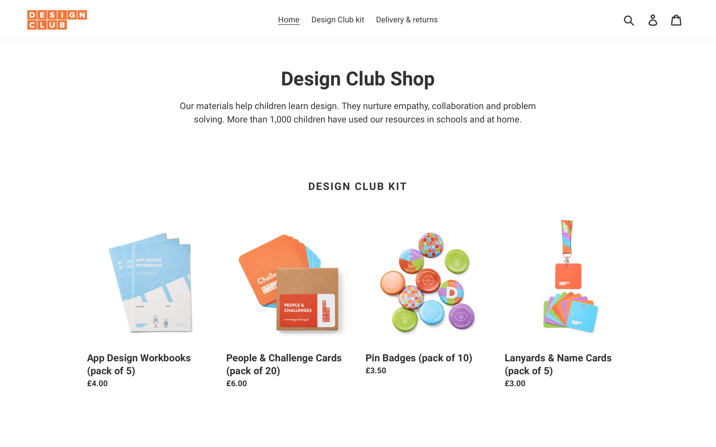 Design Club Shop