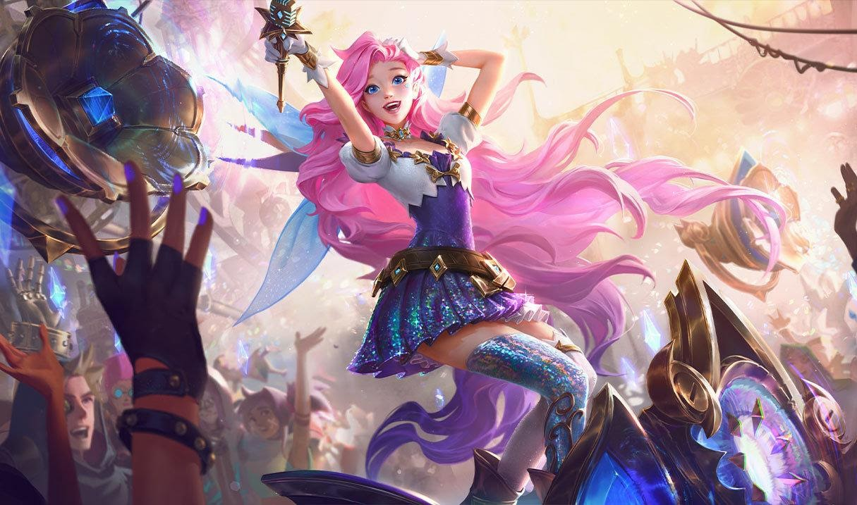 Seraphine, the Starry-Eyed Songstress - League of Legends