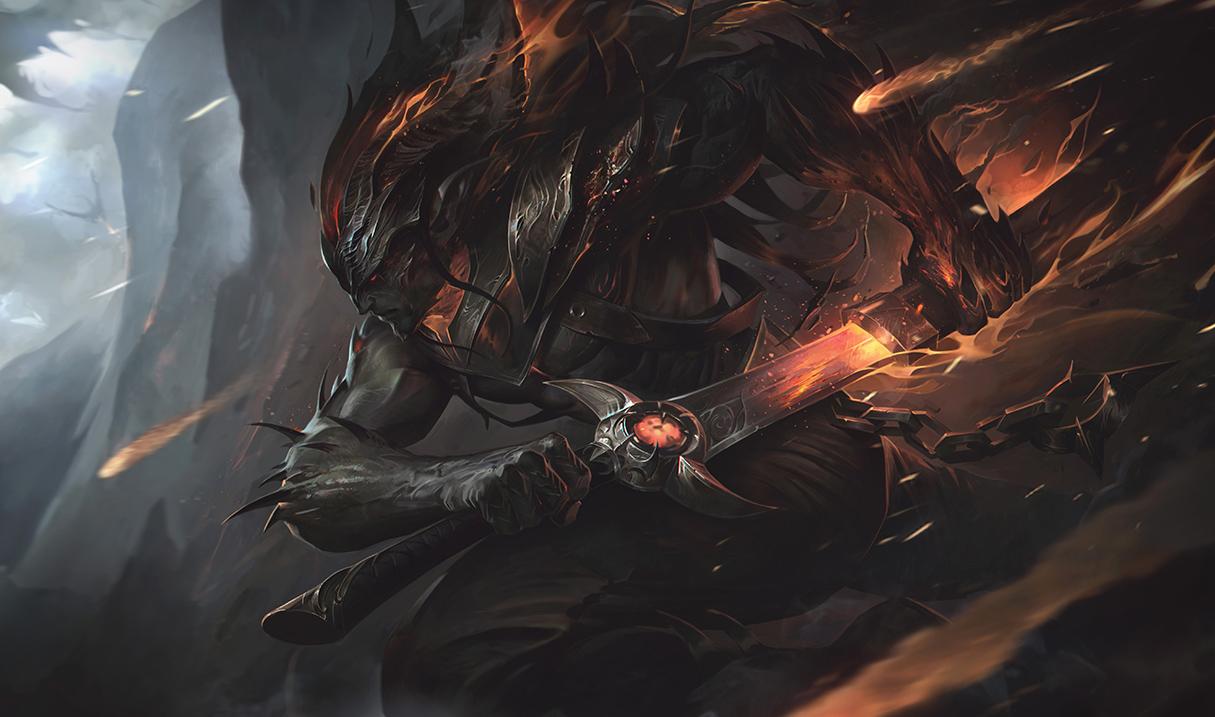 Yasuo, the unforgiven, League of Legends Nightbringer