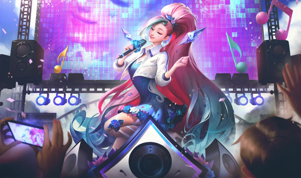 League of Legends Seraphine Starry-Eyed Songstress Support Guide