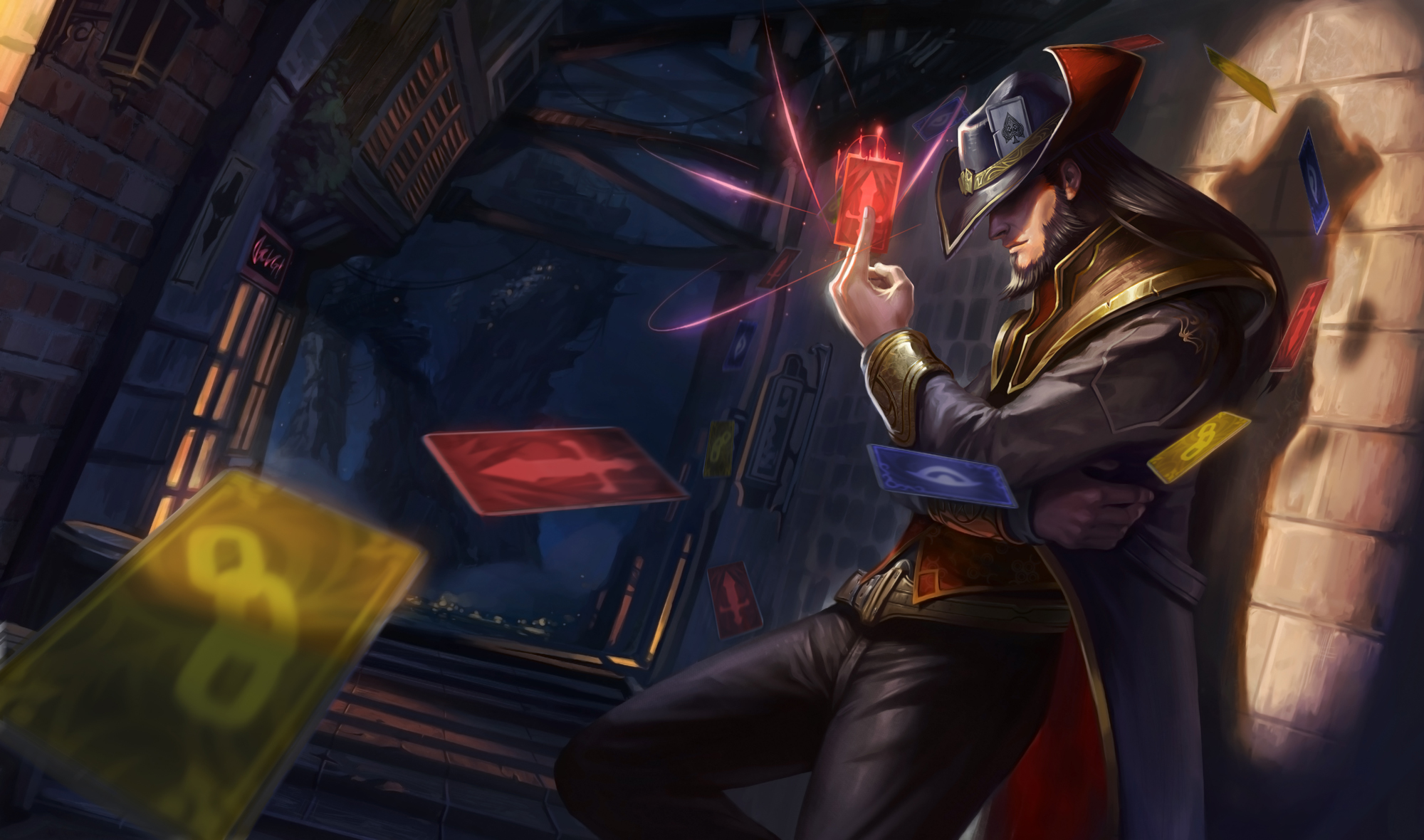 Twisted Fate Classic Skin - Updated - League of Legends Wallpapers