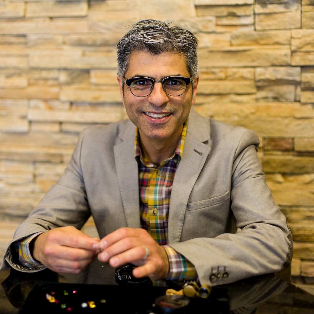 Caesar Azzam, GIA Gemologist and Designer