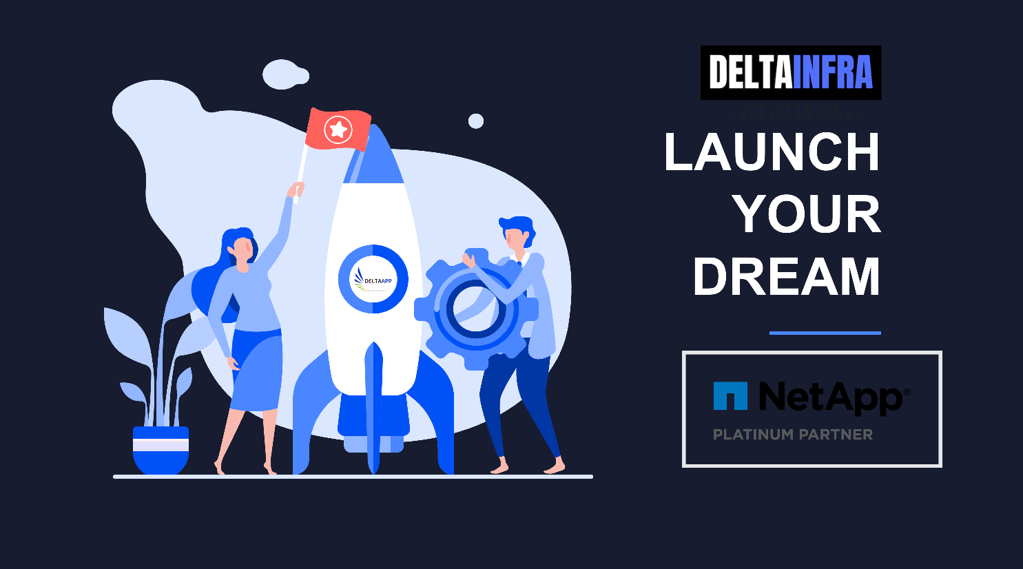 deltainfra launch your dream