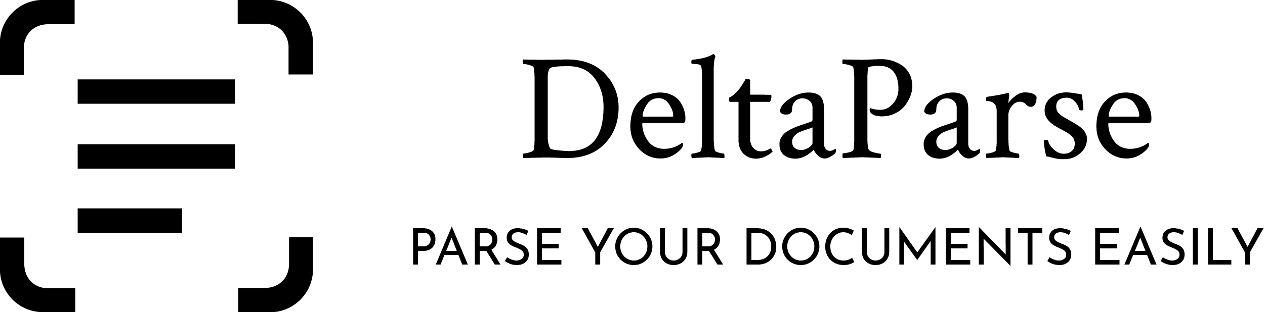 DeltaParse Brand logo