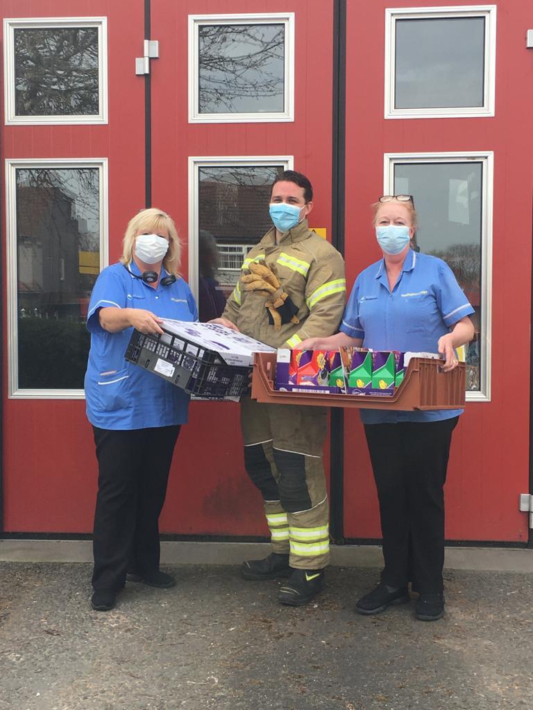 Dartford Fire Station Delivery
