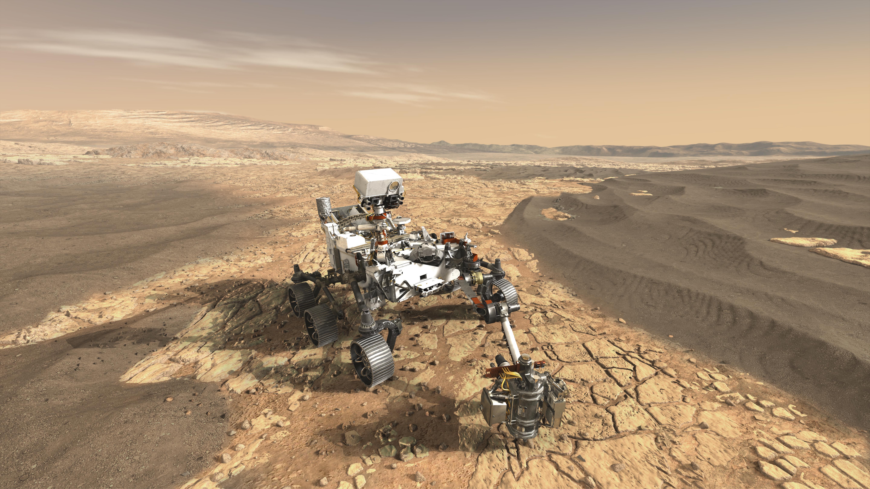 NASA's Mars 2020 Rover Artist's Concept 1
