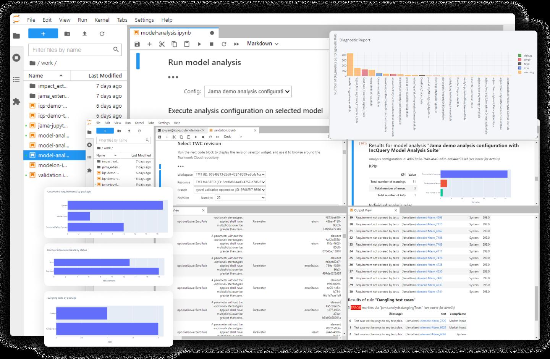 Screenshot of the IncQuery Server