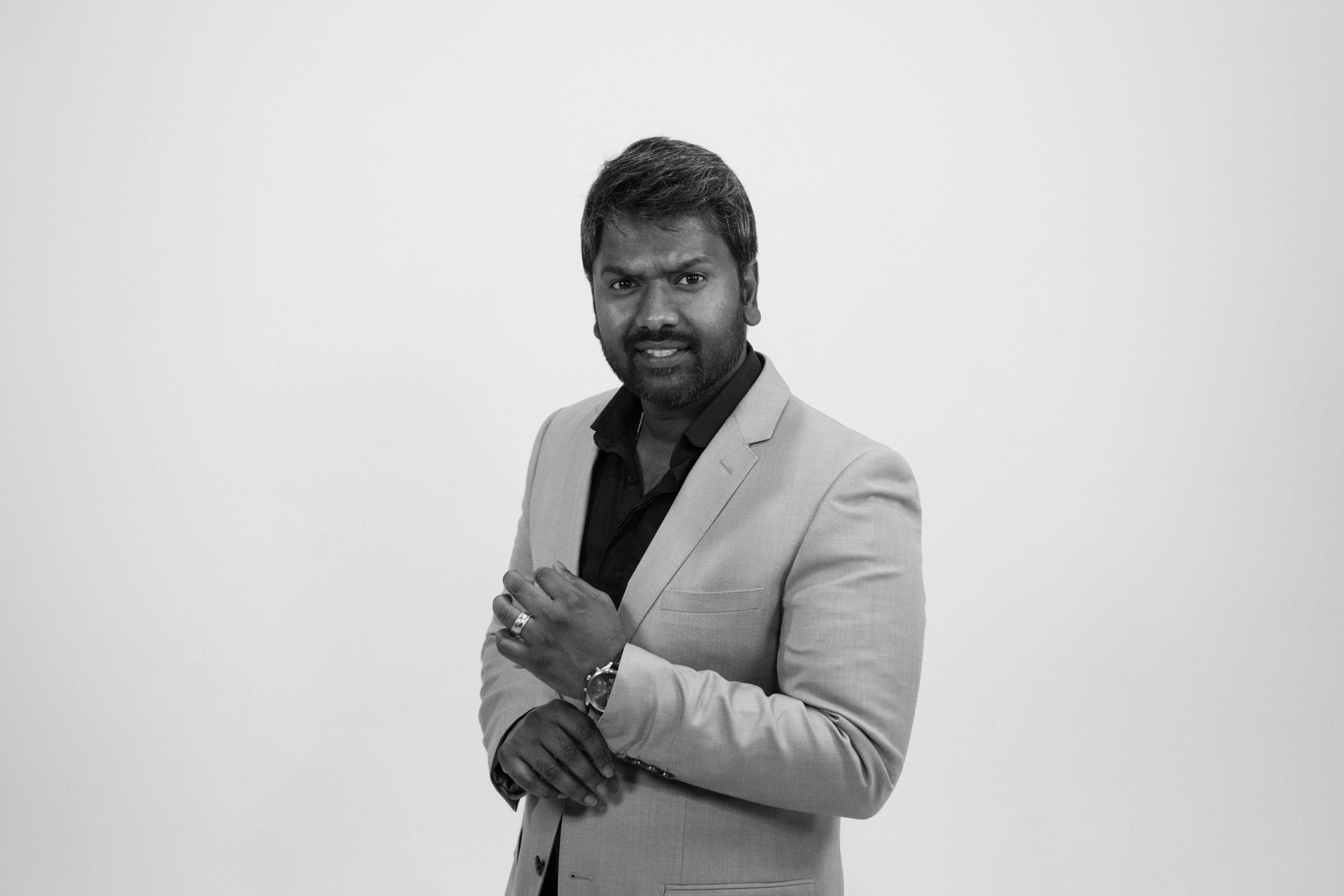 A photo of CEO Steevy Solomon