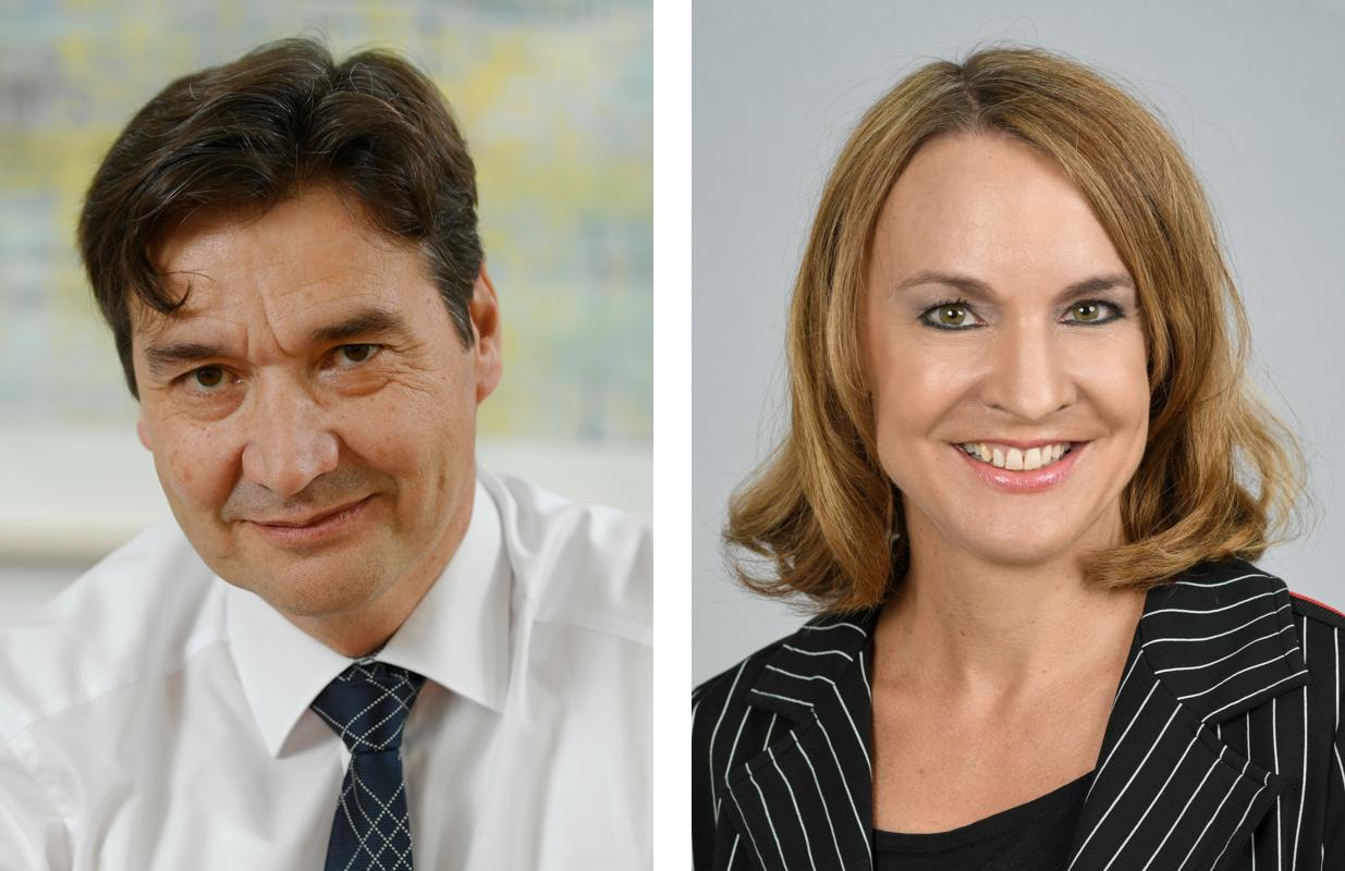 François Scheidegger und Susanne Sahli