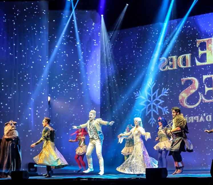 Event Live La Reine des Neiges