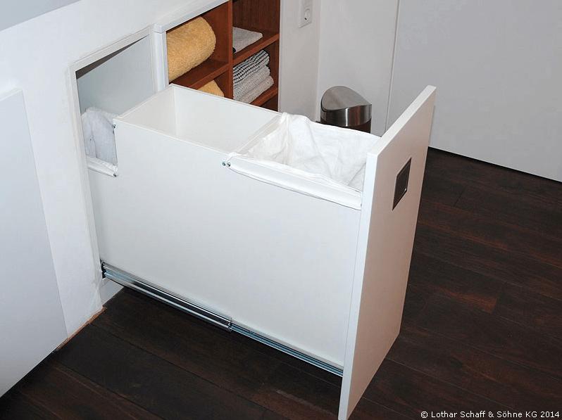 Platzsparende Wäscheschublade