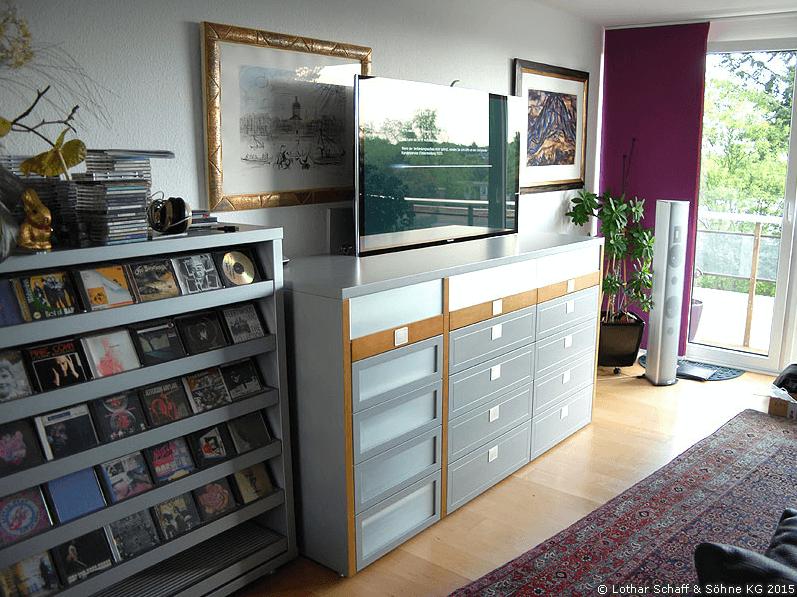 TV-Schrank mit TV-Lift