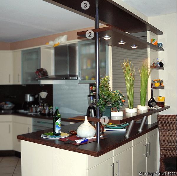 Küchen-Umbau mit kreativer Lösung