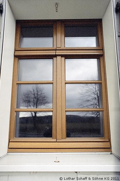 Zweiflügeliges Stulp-Fenster nach historischen Vorlagen