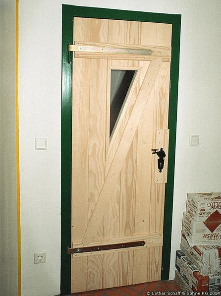 Zimmertüren im Stalltürdesign