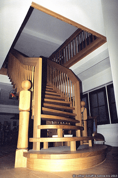 Neubau von 2 Treppen in einem Altbau