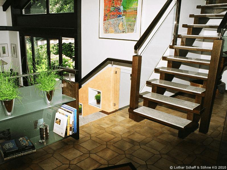 Treppenumbau mit Treppenkürzung