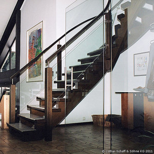 Treppe nach dem Umbau
