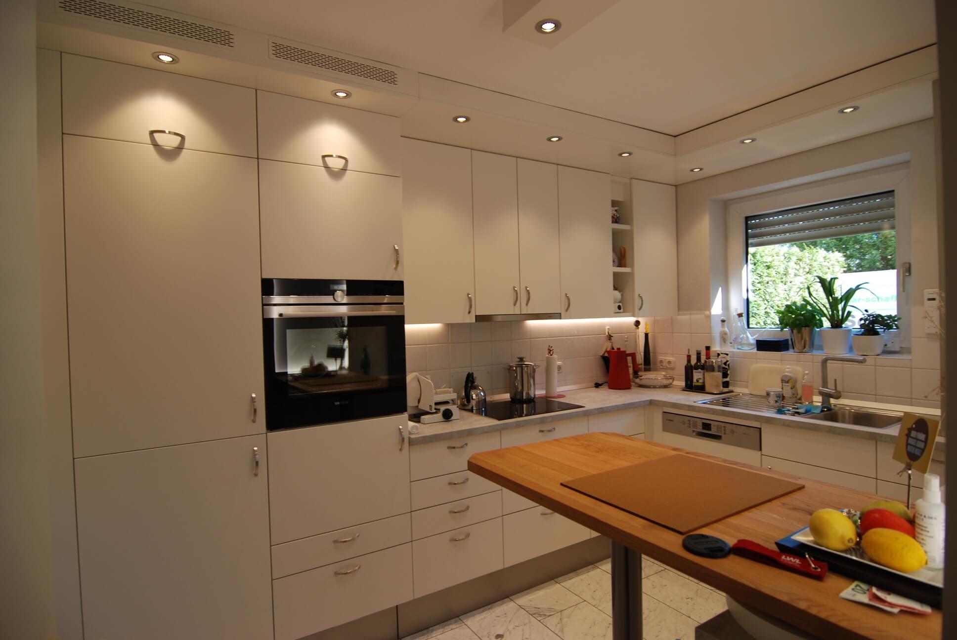 Küchenumbau mit vorhandenen Möbeln