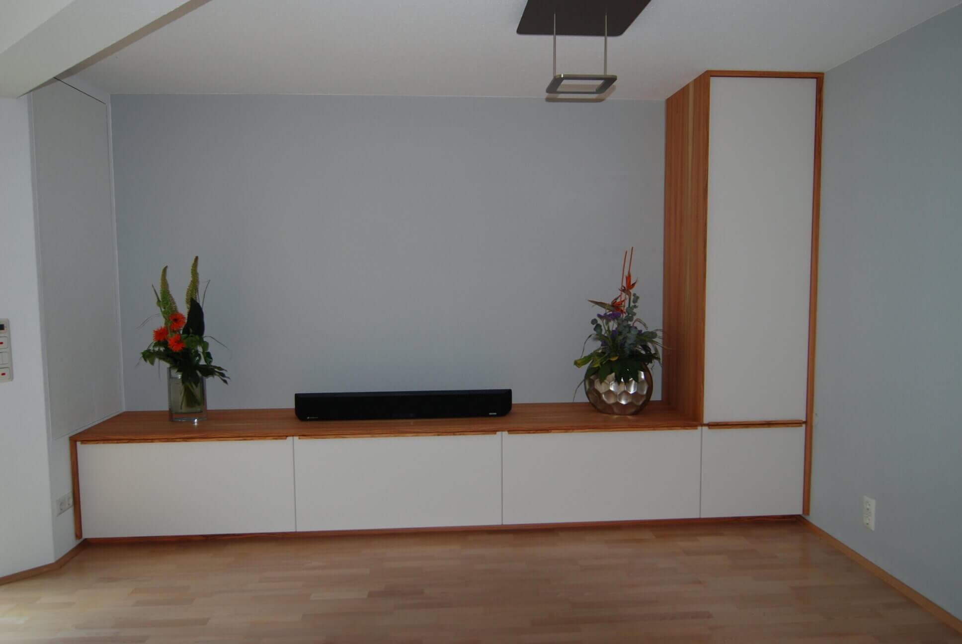 Neugestaltung einer Wohnzimmereinrichtung