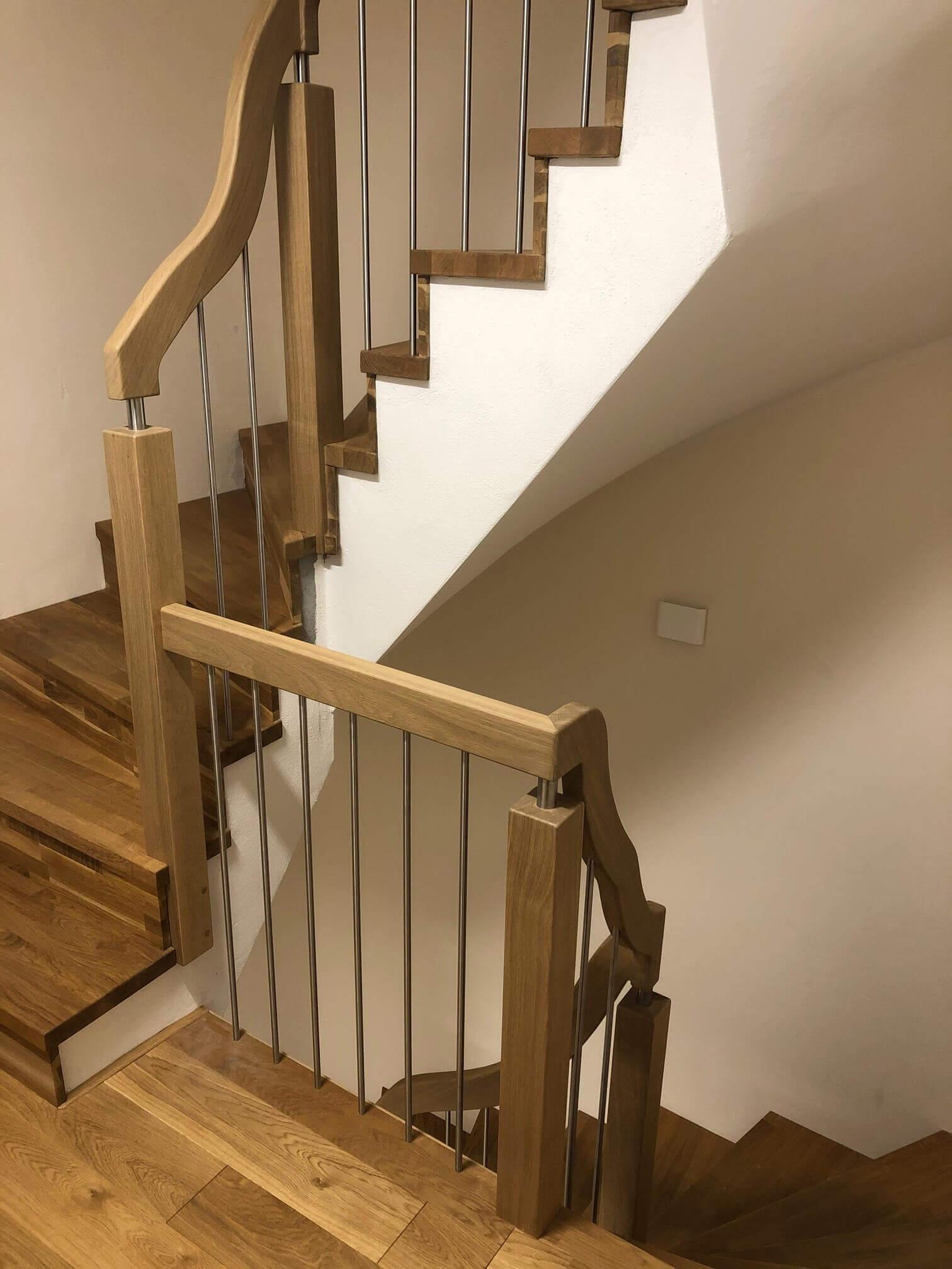 Treppengeländer für eine vorhandene Treppe