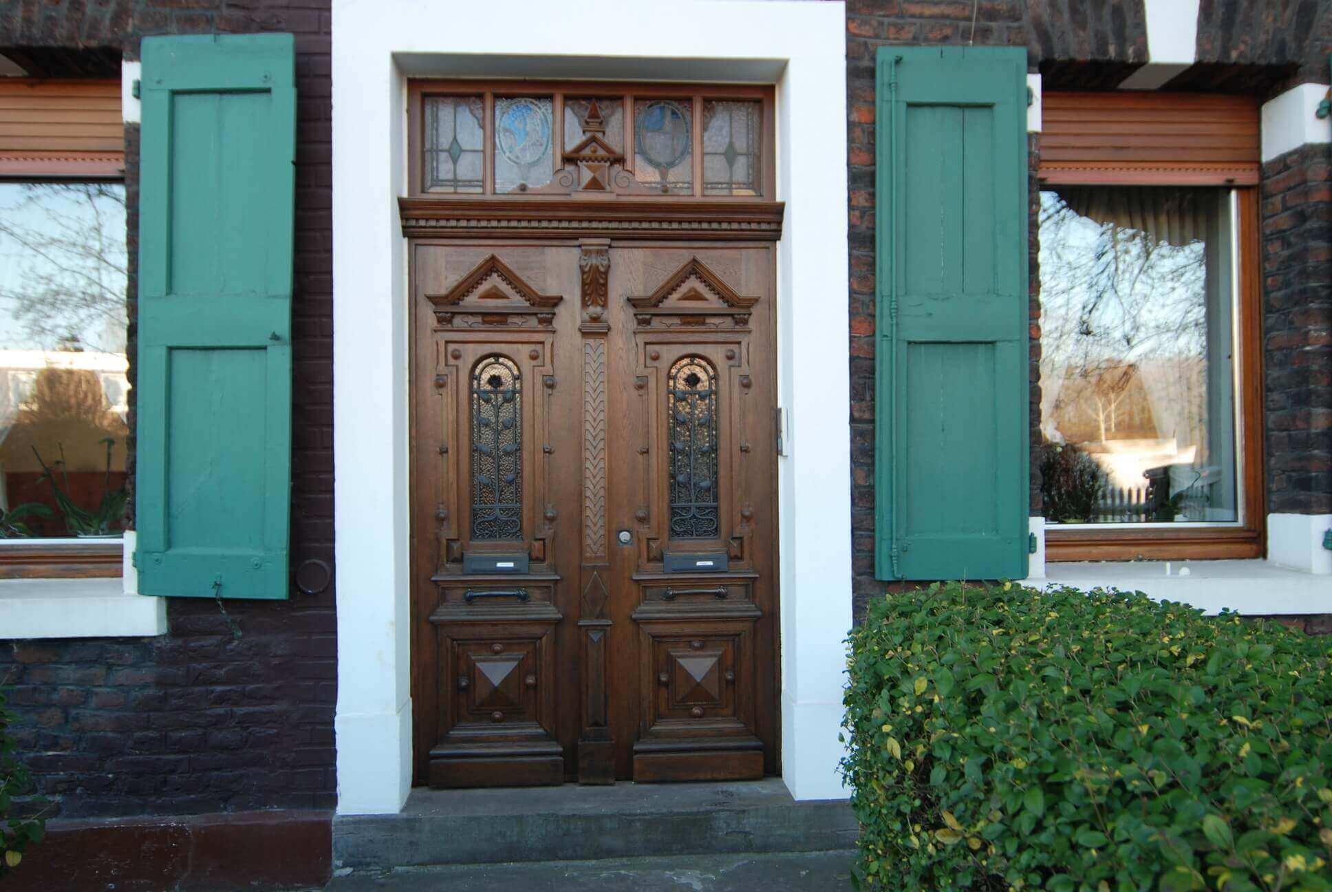 Restauration einer Haustür