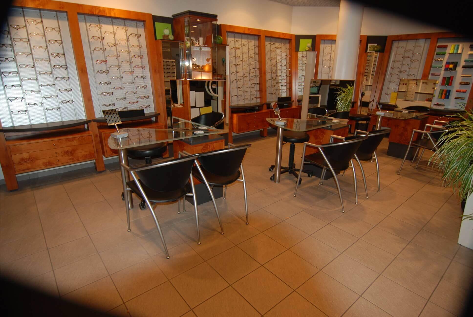 Umbau und Renovierung eines Optikerladens