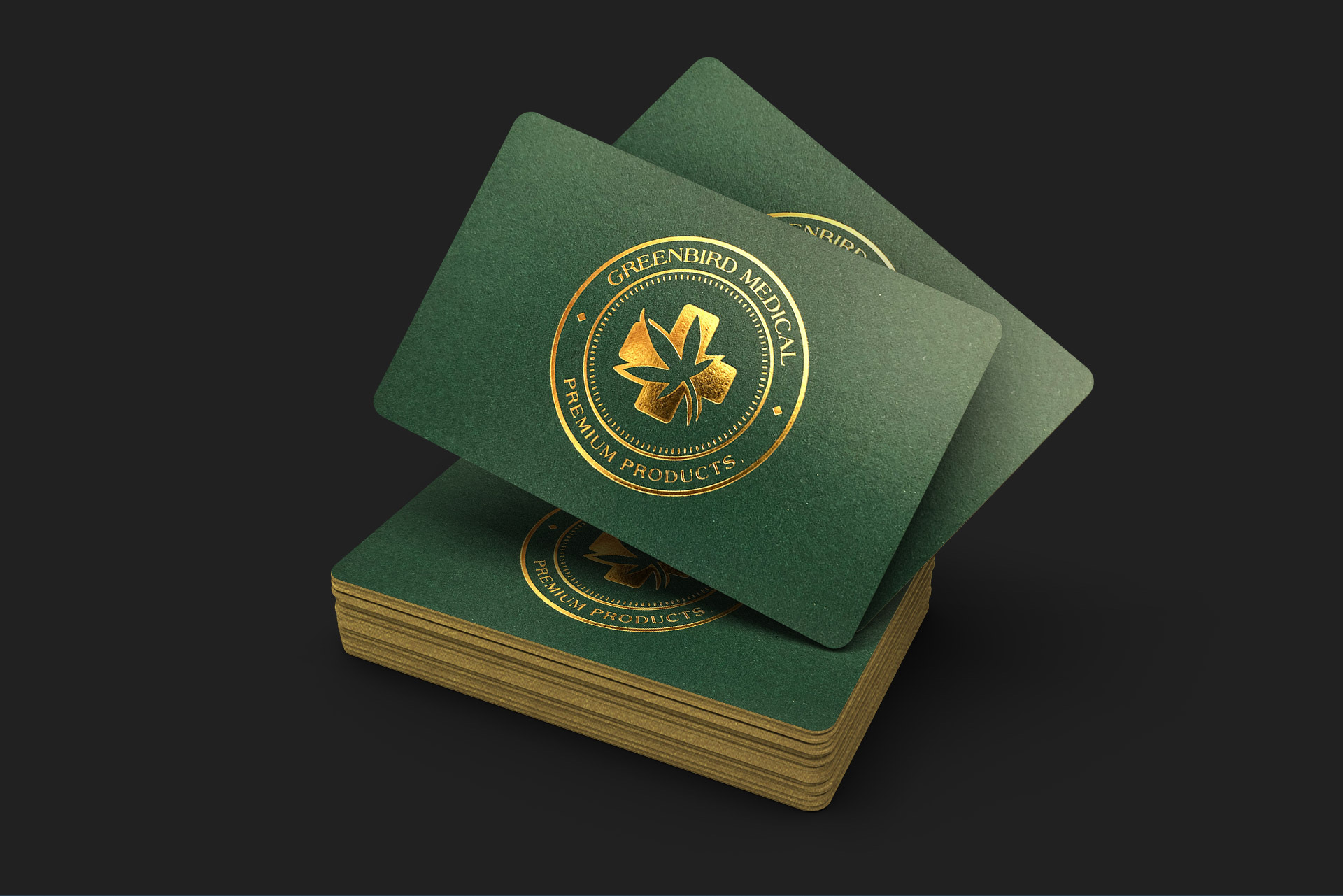 Greenbird Medical - Business Cards - Handle Creativ Werbeagentur