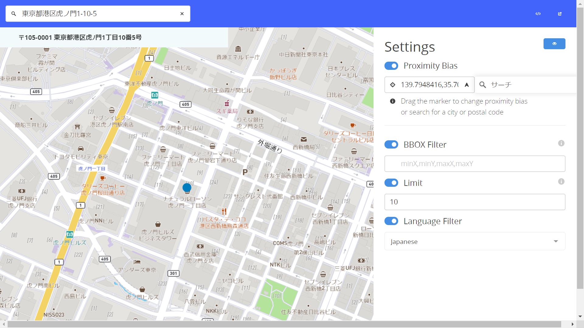 日本語での検索機能「Mapbox Search API」のパブリックベータをリリース