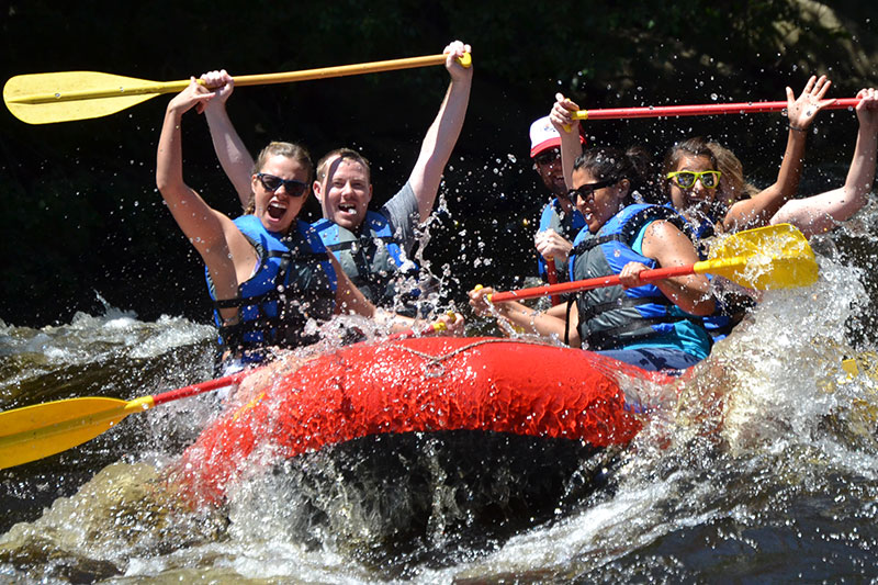 Lehigh Premier Whitewater Rafting Lehigh River - 5 Philly Day Trips