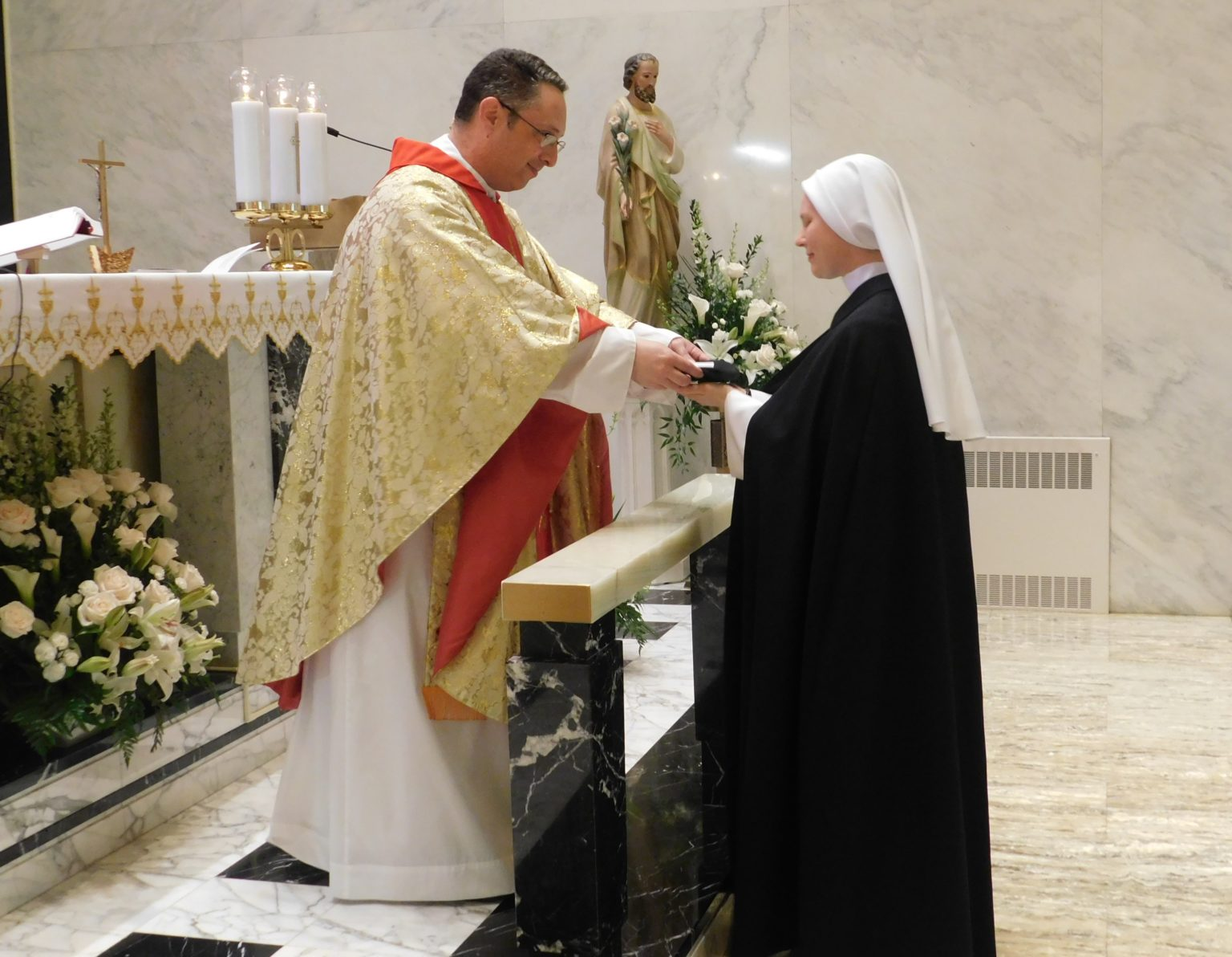 Sr. Felicity's First Profession of Vows