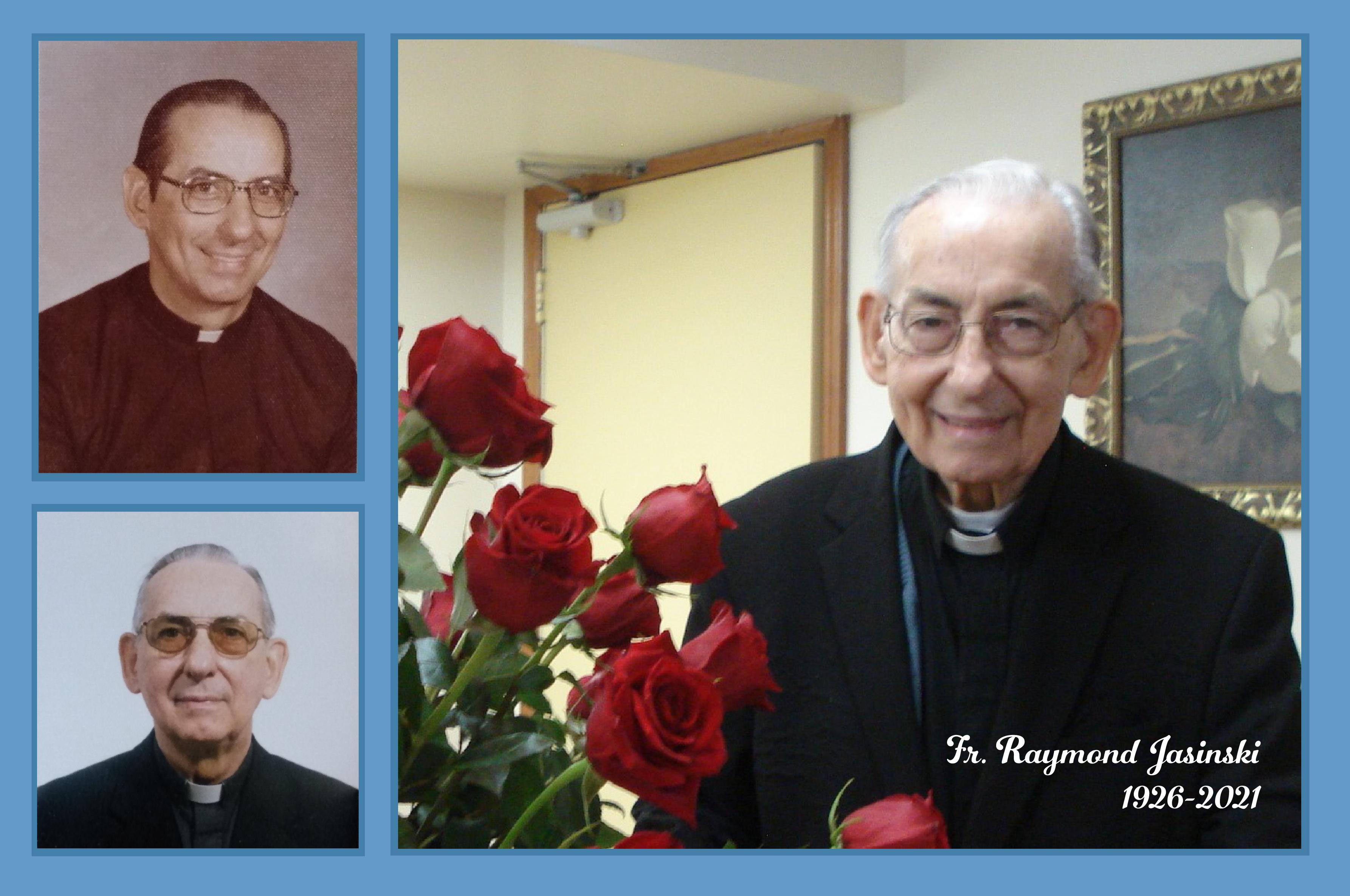 We Say Goodbye to Fr. Raymond Jasinski