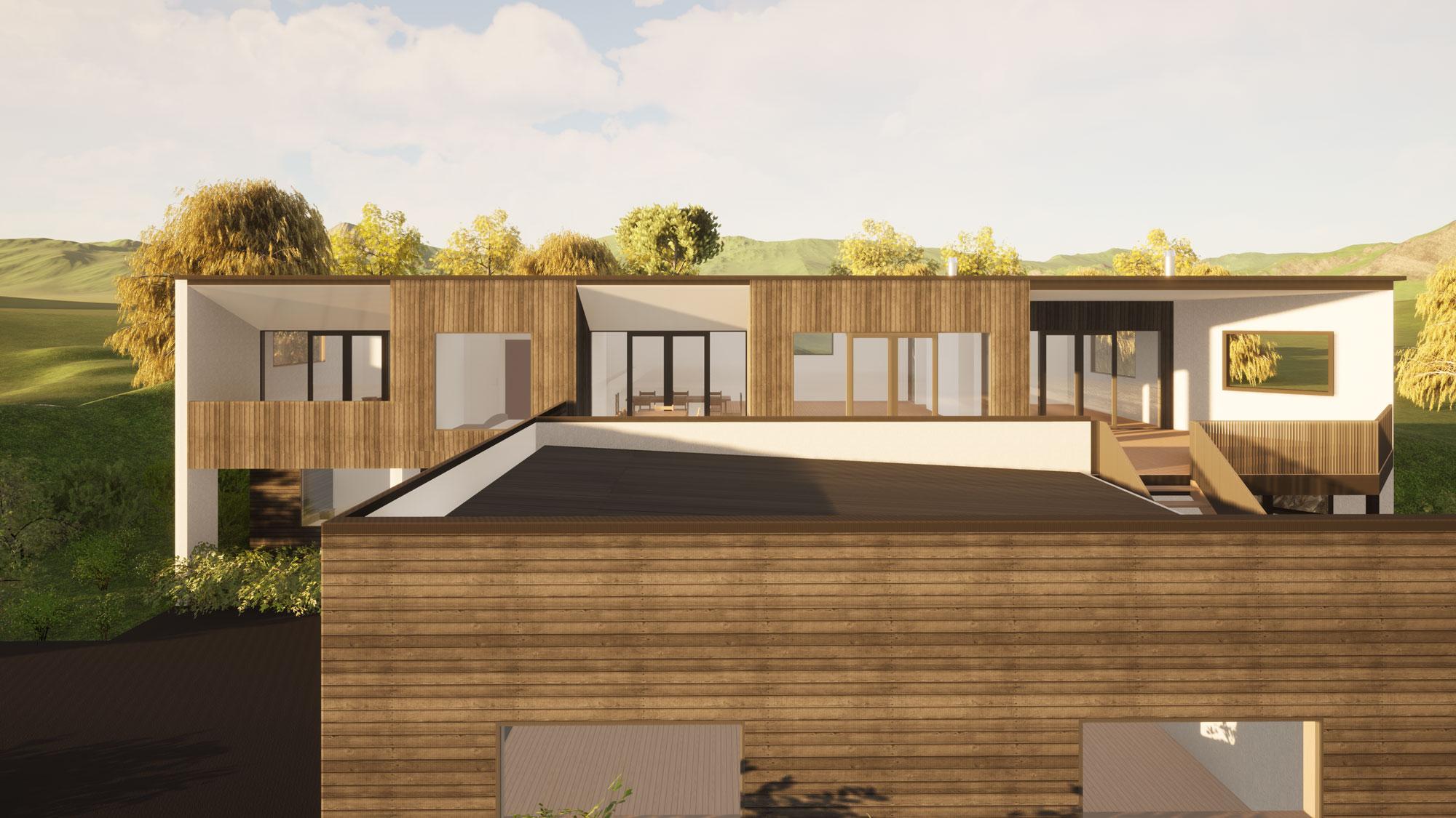 Heathfield, Dunedin view 3 by Architecture Design Studio