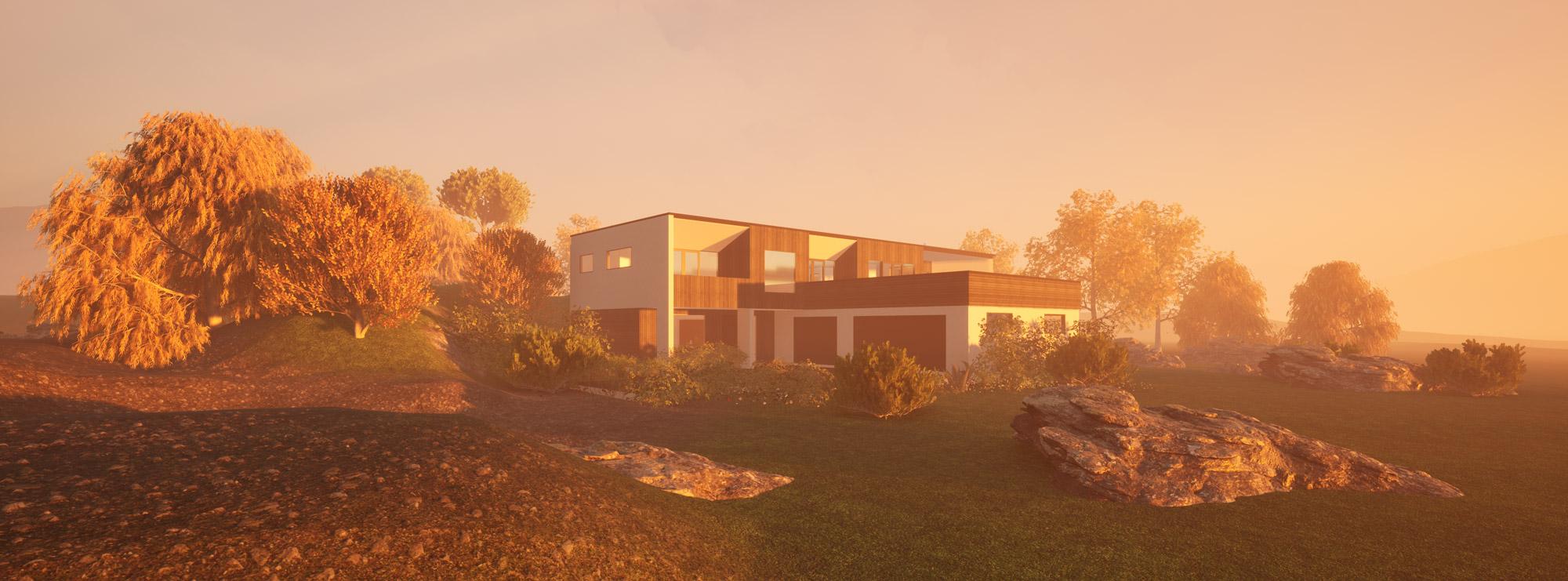 Heathfield, Dunedin view 4 by Architecture Design Studio