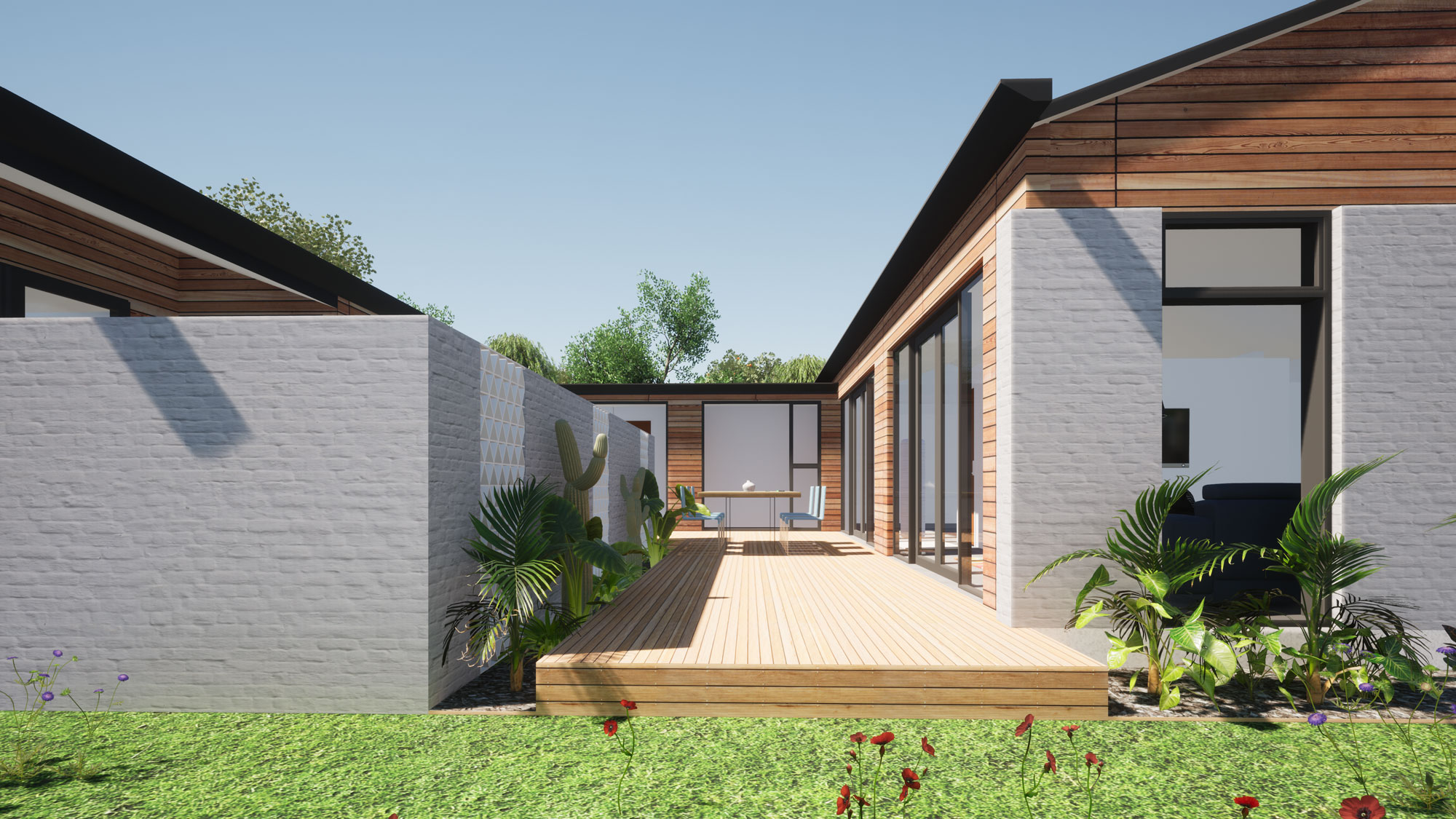 Highland Park, Dunedin view 2 by Architecture Design Studio