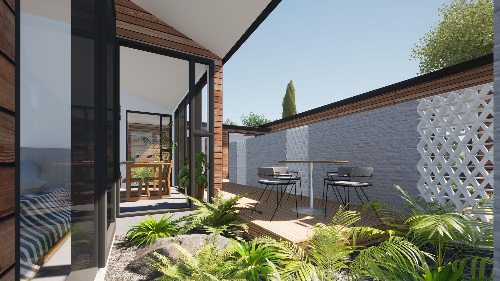 Highland Park, Dunedin view 3 by Architecture Design Studio