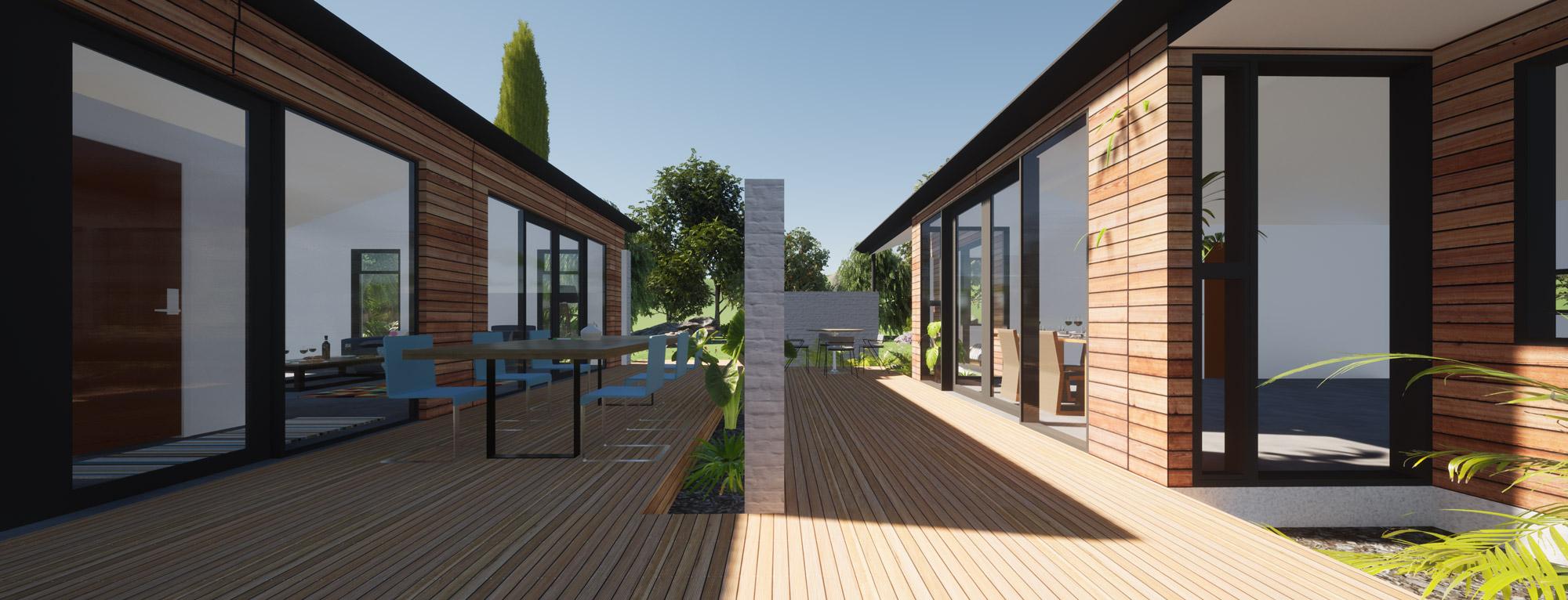 Highland Park, Dunedin view 4 by Architecture Design Studio