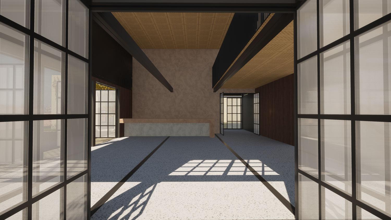 Restaurant view 3 by Architecture Design Studio
