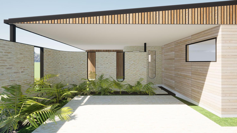 Meadowstone, Wanaka view 2 by Architecture Design Studio