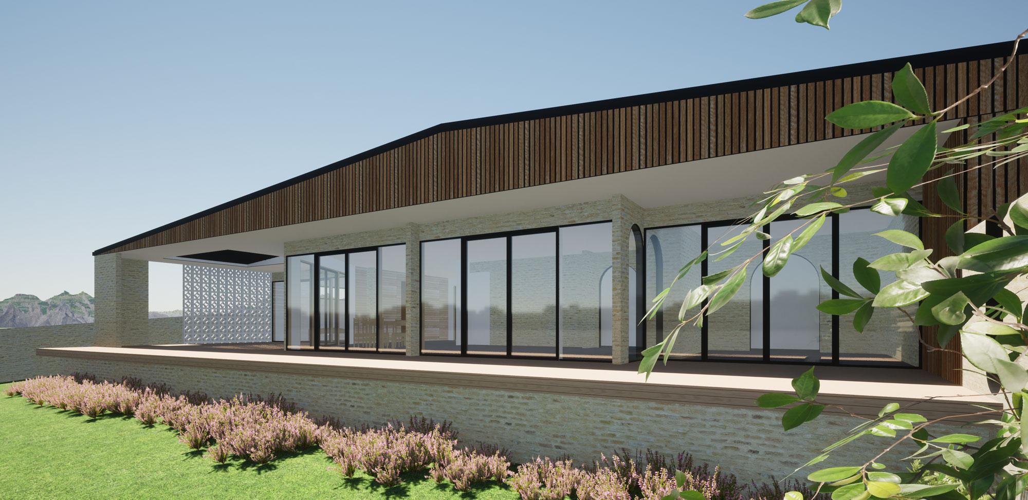 Meadowstone, Wanaka view 4 by Architecture Design Studio