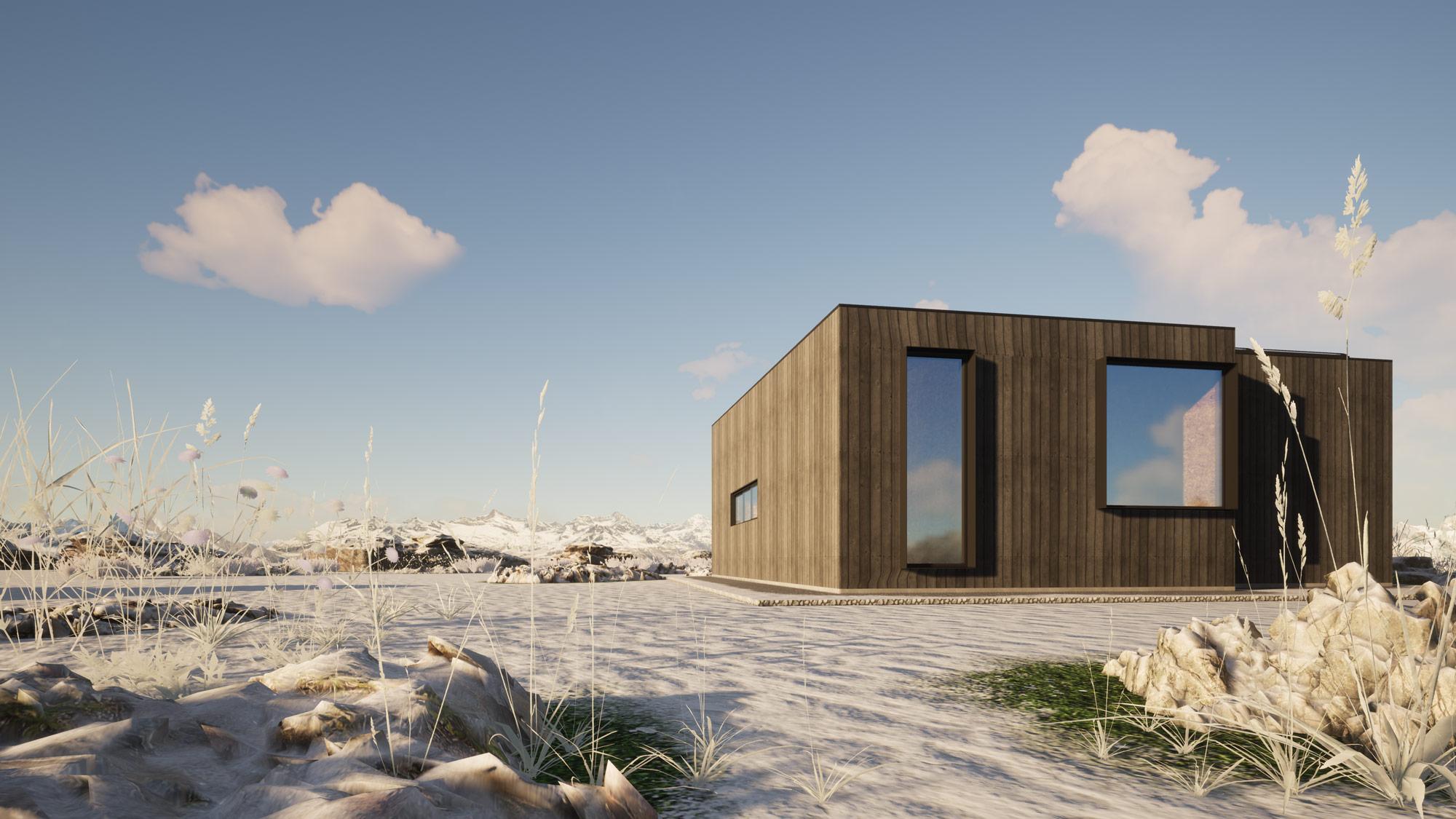 Twizel view 2 by Architecture Design Studio