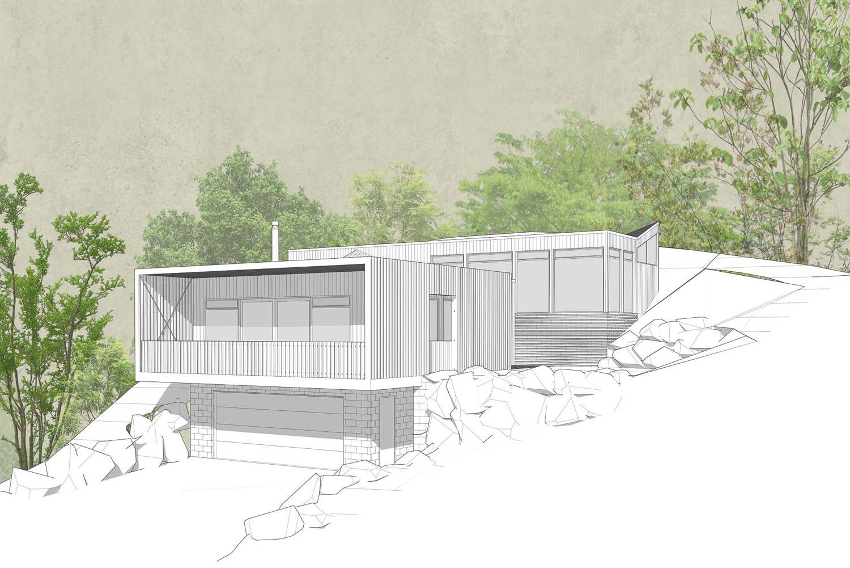 Macandrew Bay view 2 by Architecture Design Studio