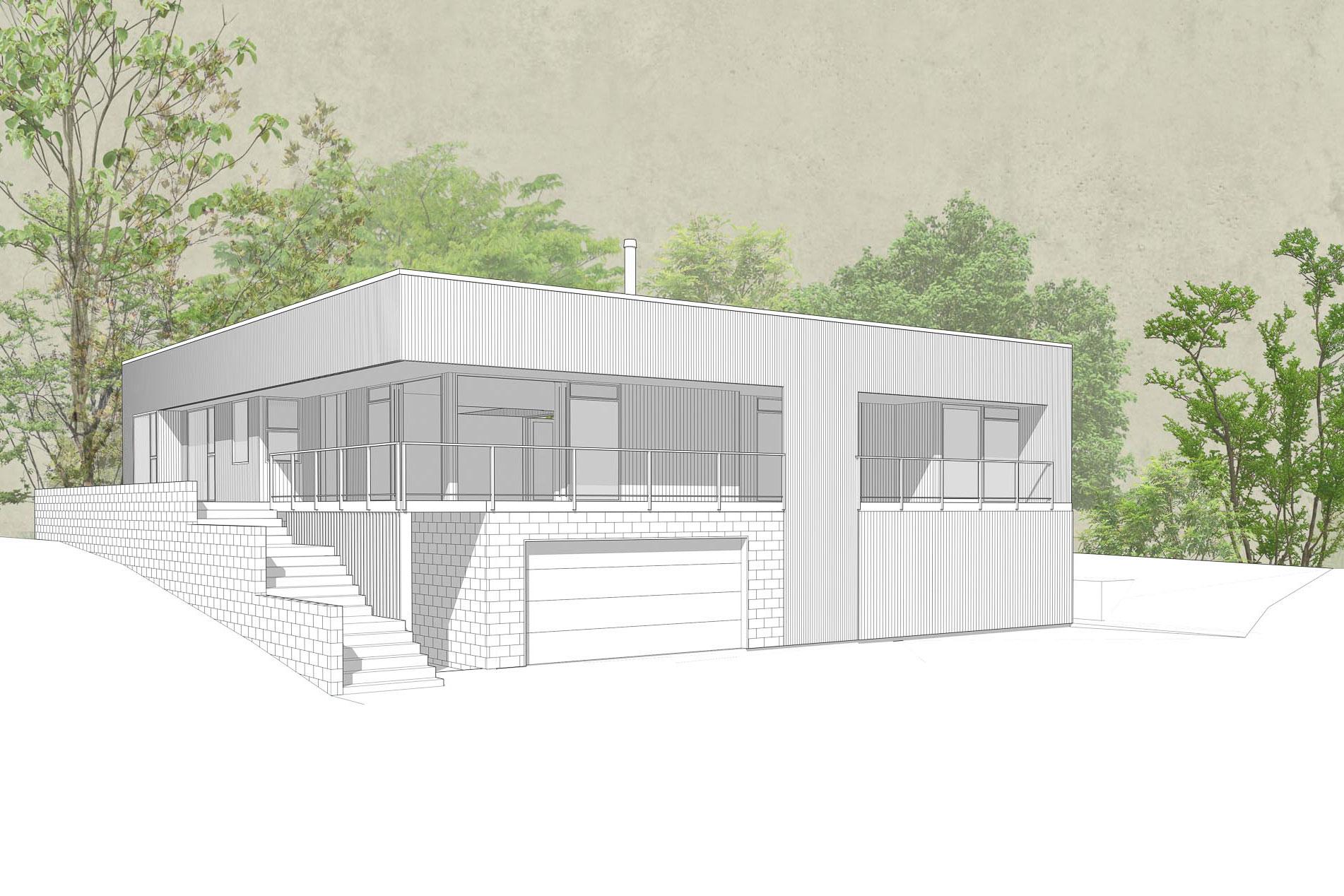 High Cliff Road by Architecture Design Studio