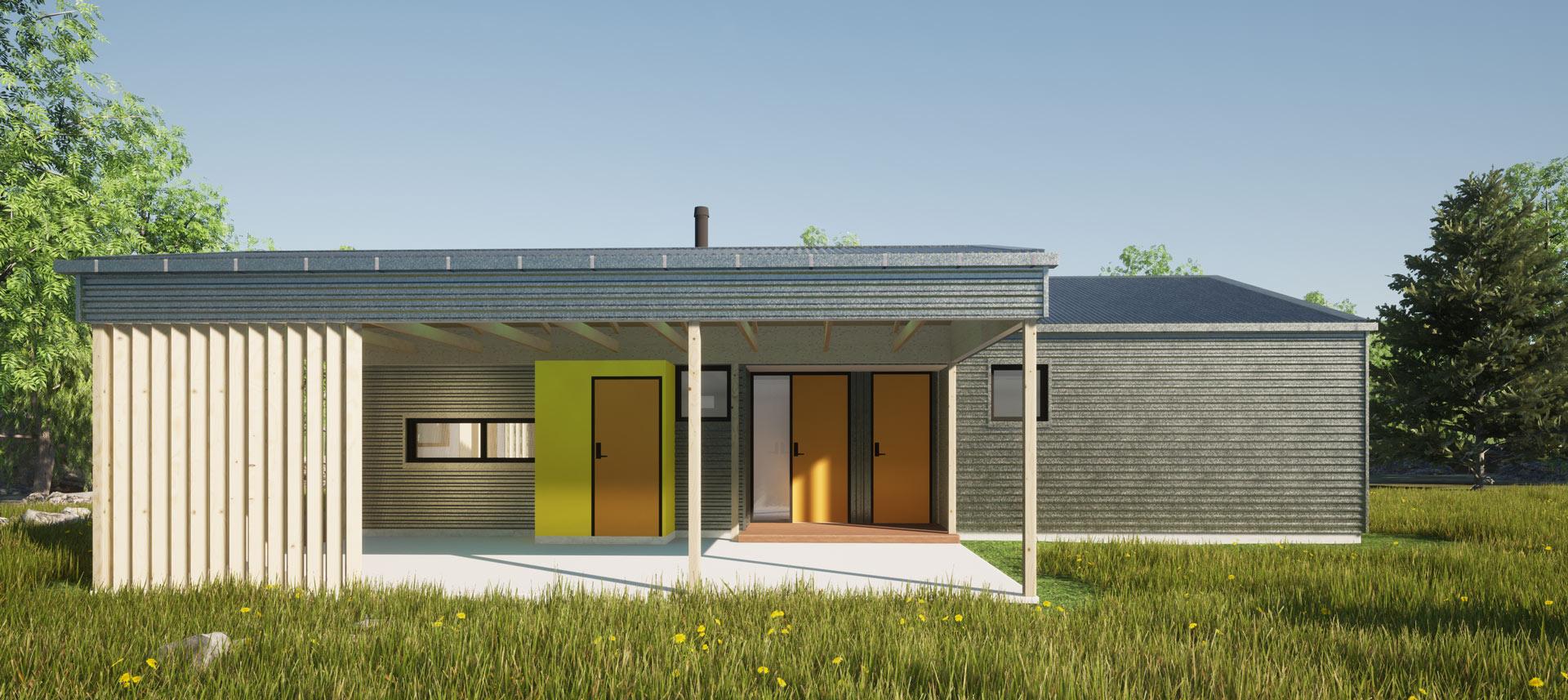 Ohau Village by Architecture Design Studio