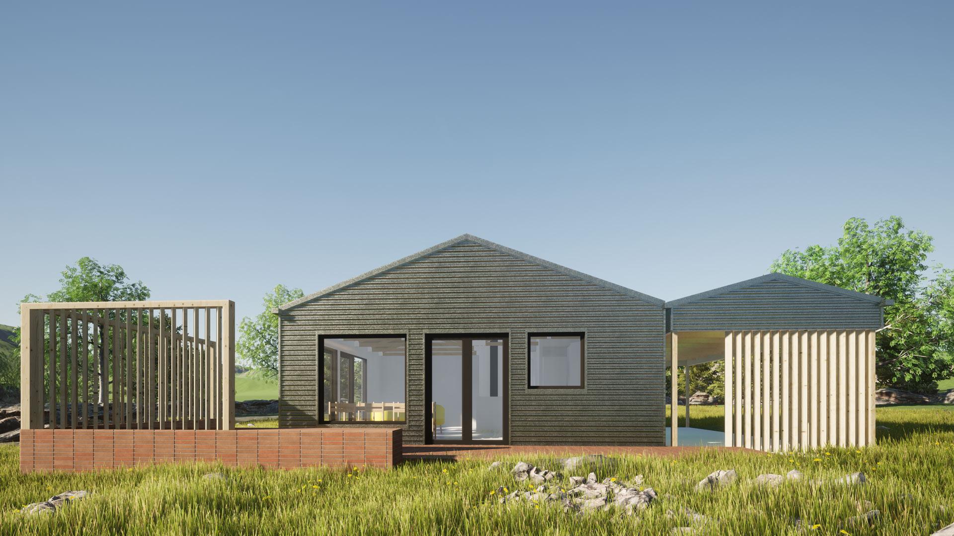 Ohau Village view 2 by Architecture Design Studio