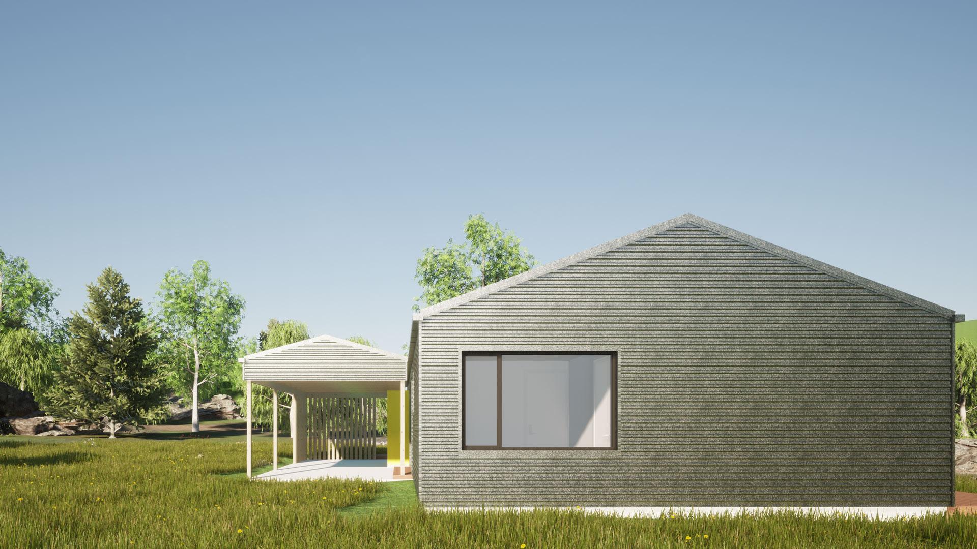 Ohau Village view 3 by Architecture Design Studio
