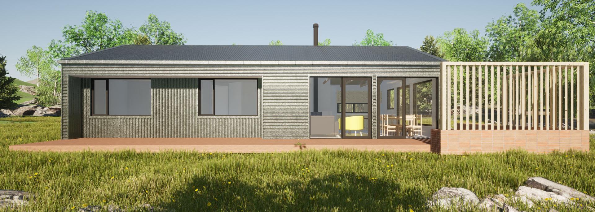 Ohau Village view 4 by Architecture Design Studio