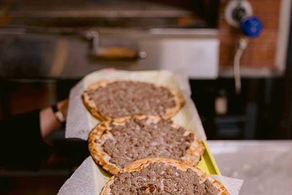Meat Brick Oven Bread