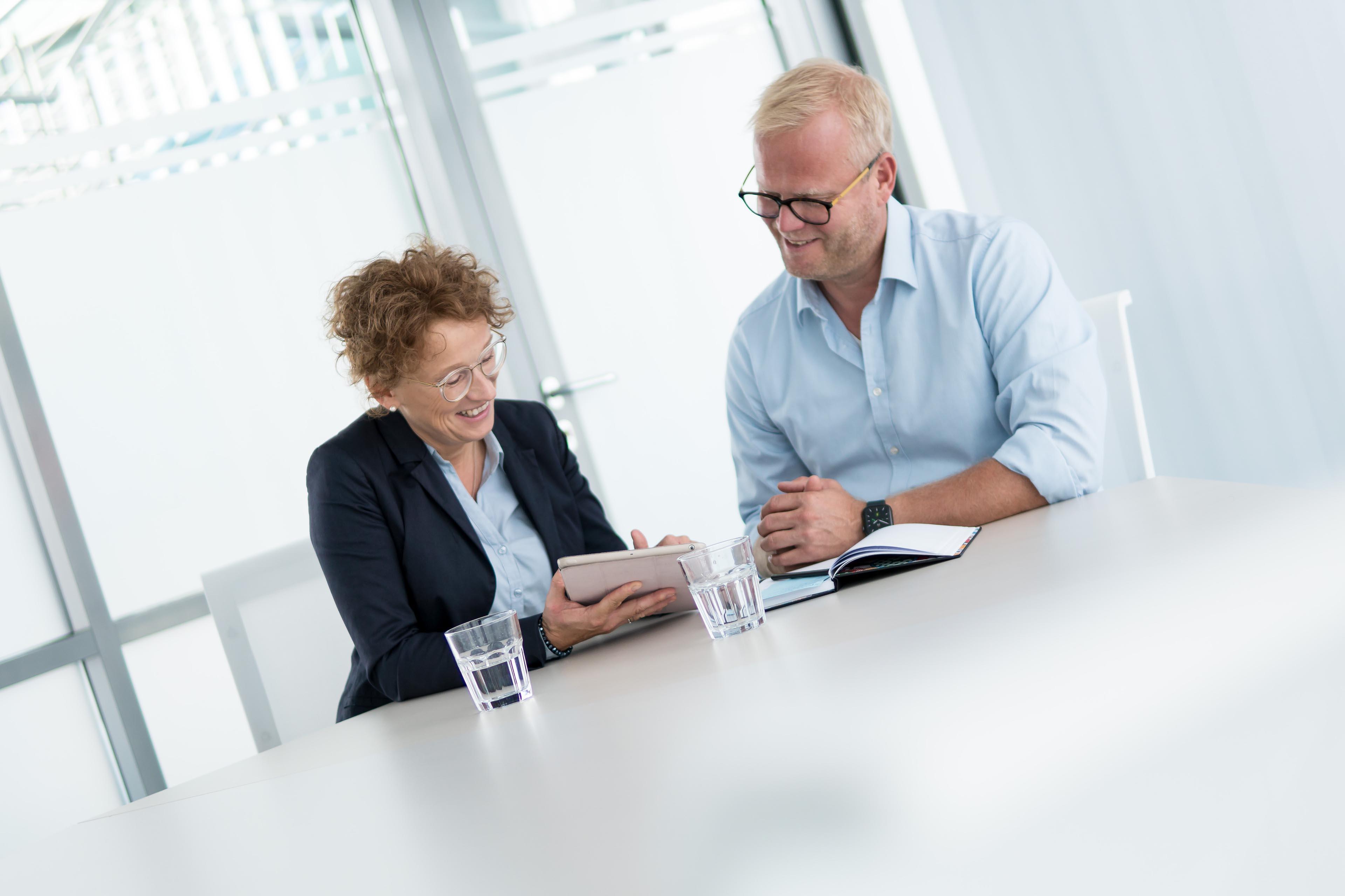 Maike Grünebaum Consulting | Im Beratungsgespräch