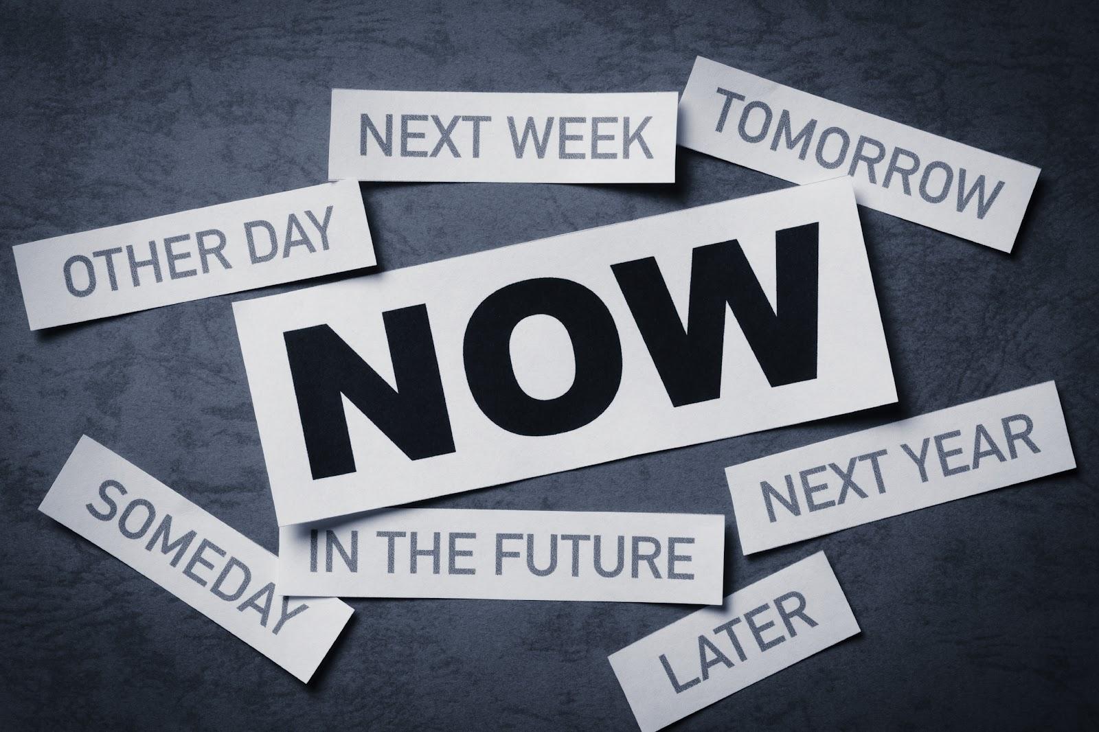 Procrastination vs. Action